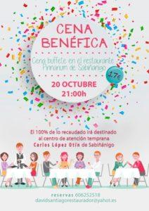 Cena Benéfica Sabiñánigo (redes)