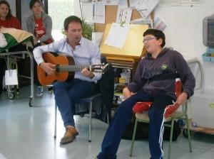 Roberto Ciria ha cantado con David Español.