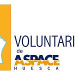 Logotpo de los voluntarios de Aspace Huesca
