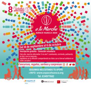 Cartel 8 Marcha Aspace Huesca 2020