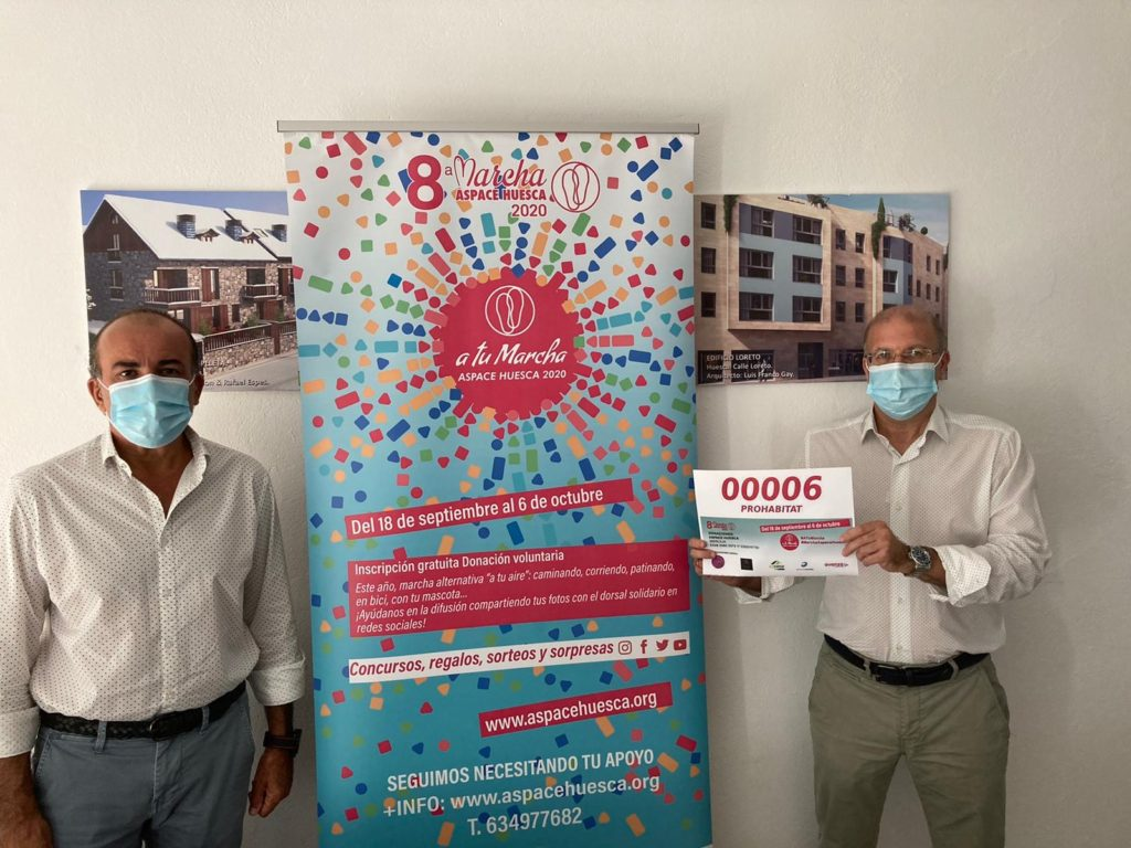 PROHABITAT Patrocinadores dorsal Marcha Aspace Huesca 2020