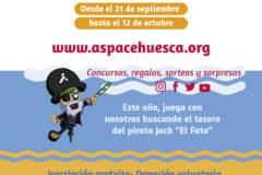 9 Marcha Aspace Huesca cartel