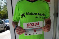 Dorsal Voluntarios Caixabank Marcha Aspace Huesca