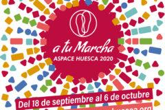 LOGO 8 MARCHA ASPACE HUESCA 20202