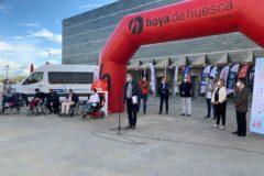 Marcha Aspace Huesca 6 oct 1