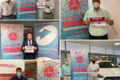 Patrocinadores dorsal Marcha Aspace Huesca 2020