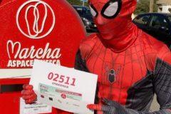 Spiderman Marcha Aspace Huesca 2020